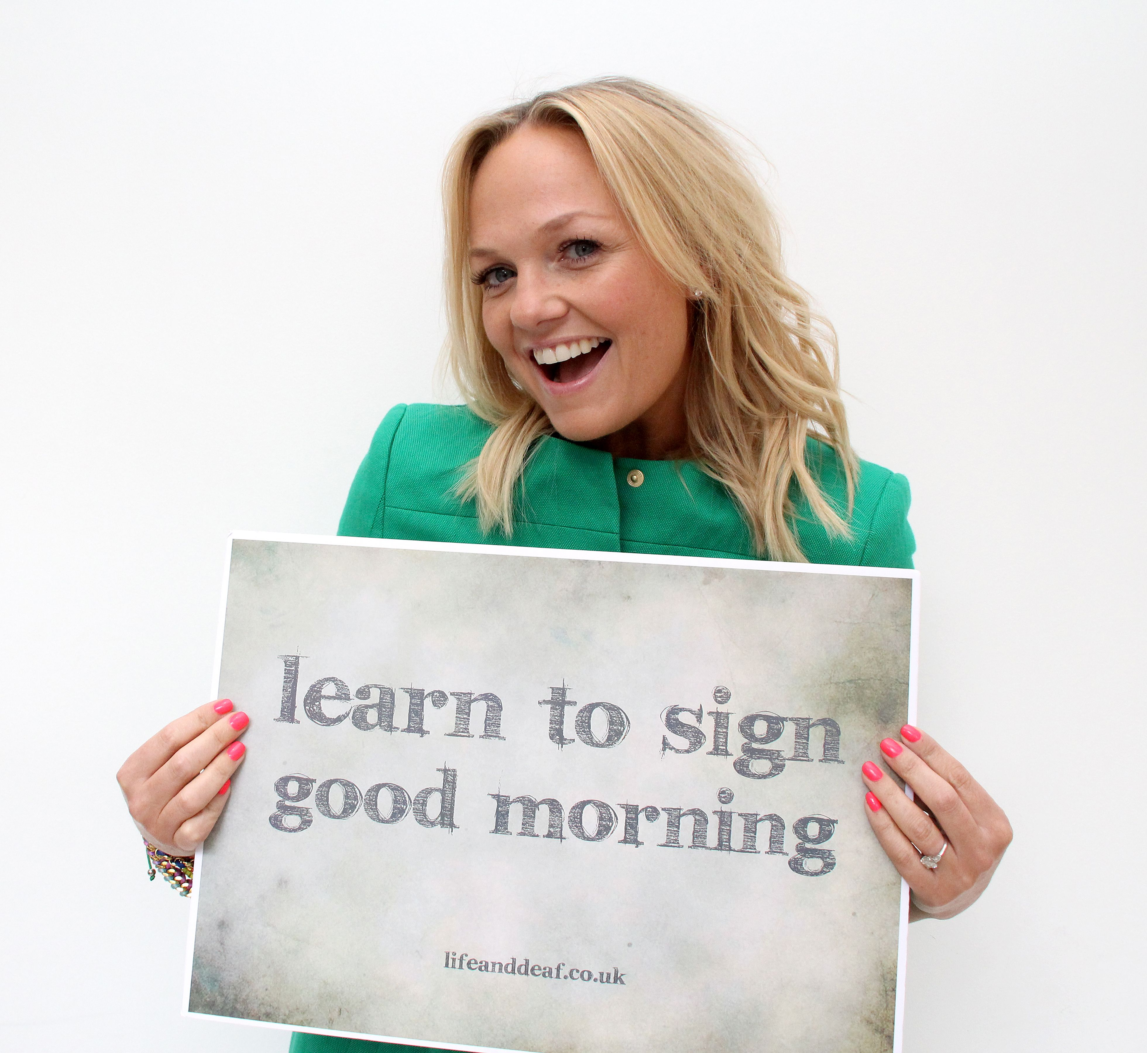 how to say good morning in sign language